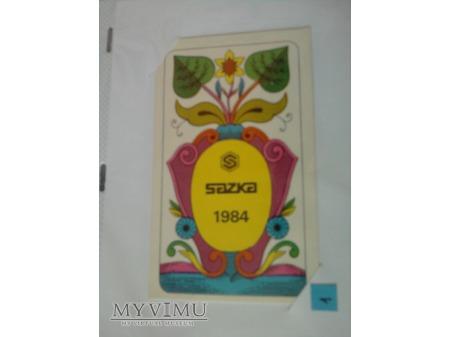 Kalendarzyki 1984