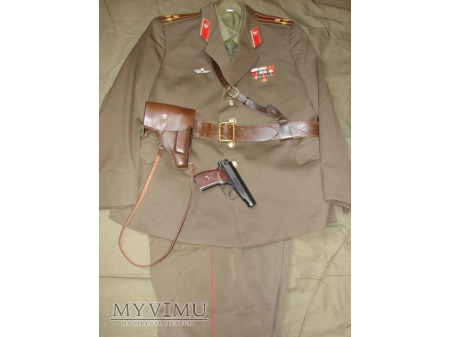 Duże zdjęcie Mundur codzienny pułkownika wojsk zmechanizowanych