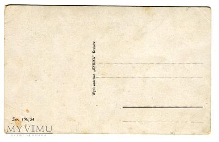 Florian Cynk ŚWIĘTY MIKOŁAJ pocztówka