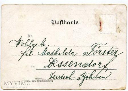 Pozdrowienia z... Dessendorf pocz. XX w.