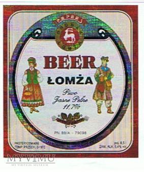 beer łomża