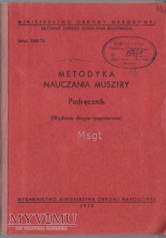 METODYKA NAUCZANIA MUSZTRY