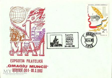 1 Maja - Rumunia - 1983 r.