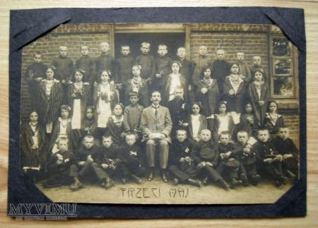 Duże zdjęcie fotografia, rok 1918