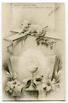 Duże zdjęcie 1941 Baranek Boży, który Gładzi grzech świata