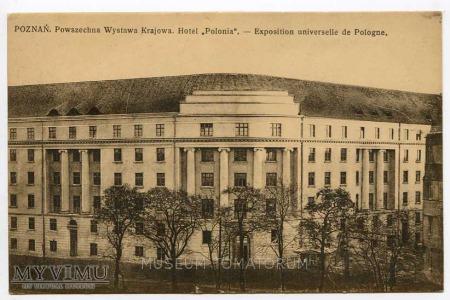 "Poznań lata 20-te - Hotel ""Polonia"""