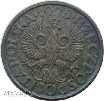 2 grosze 1928 rok