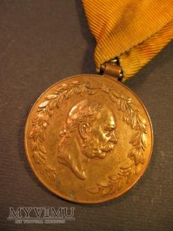 Ehrenmedaille f. 25-j. verdienstvolle auf Feurwehr