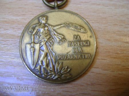 Brązowy Medal Za Zasługi dla Pożarnictwa