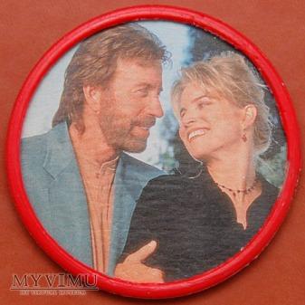 Chuck Norris z blondynką