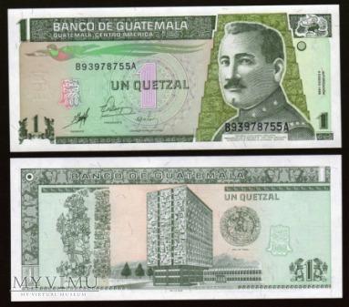 Guatemala - P 99 - 1 Quetzal - 1998