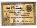 01.11.1916 - 50 Pfennig - Poznań