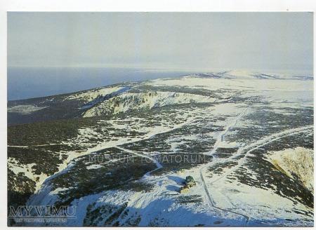 Karkonosze widok ze Śnieżki 1990