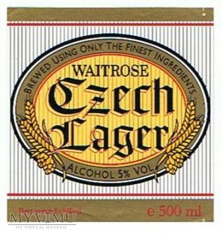 waitrose czech lager