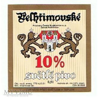 pelhřimovské 10% světlé pivo
