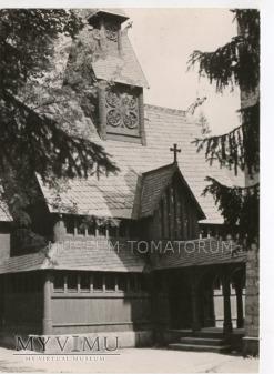 Karkonosze - Bierutowice, Świątynia Wang - 1962