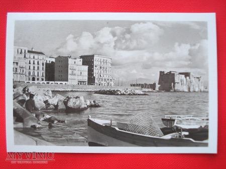 Neapol - Via Partenope i Castel dell'Ovo