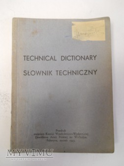 Słownik techniczny Polsko- Angielski dla B.P.