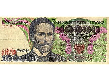 10000 Złotych 01.12.1988 r.