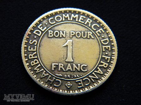 1 franc 1923 r