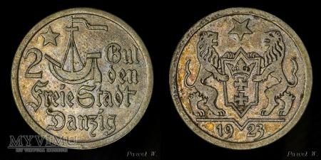 Wolne Miasto Gdańsk - 1923 - 2 gulden