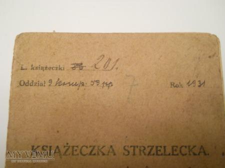 Książeczka strzelecka 59p.p. Inowrocław