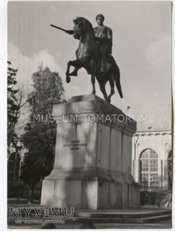 W-wa - pomnik Poniatowskiego - 1962
