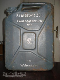Kanister 20 L Wehrmacht Nirona