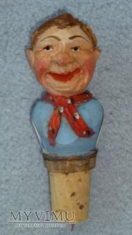 Mężczyzna z szalikiem - korek do butelek ANRI