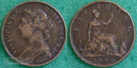 Wielka Brytania, 1 Farthing 1893