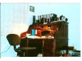 W starym biurku