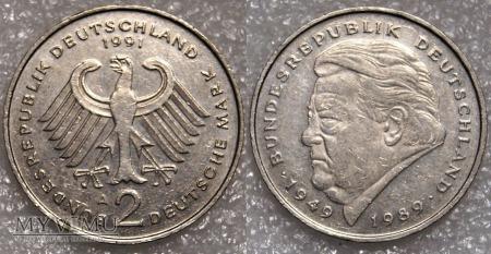 Niemcy, 1991, 2 DEUTSCHE MARK