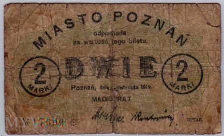 04.11.1919 - 2 Marki - Poznań -pierwsza seria