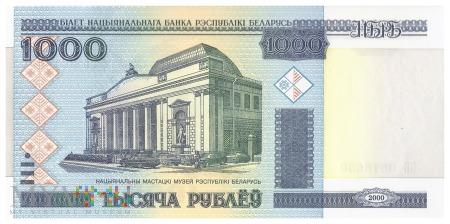 Białoruś - 1 000 rubli (2011)