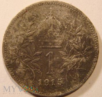 1 korona Austria (Austro-Węgry) 1915