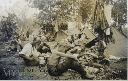 Niemieccy żołnierze, posiłek