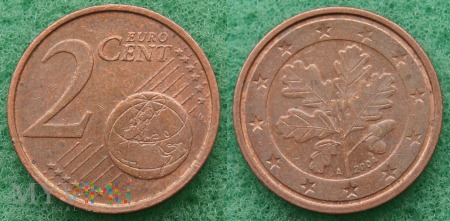 2 EURO CENT 2004 A