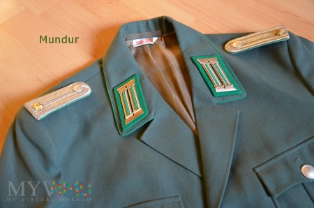 Mundur Bereitschaftspolizei DDR - Unterleutnant
