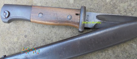Bagnet 1884/98 nitowane okladki cvl 1944