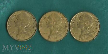 Duże zdjęcie Francja 10 centymów, 1969/1980/1987/1992/1993/1996