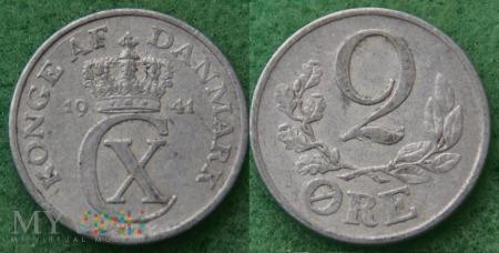 Dania, 2 Øre 1941