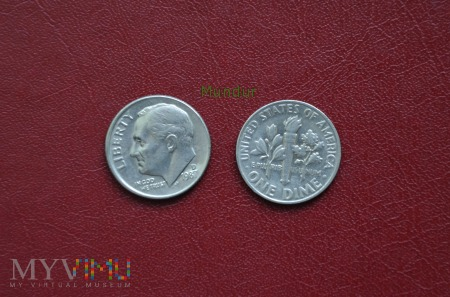 Moneta USA: one dime