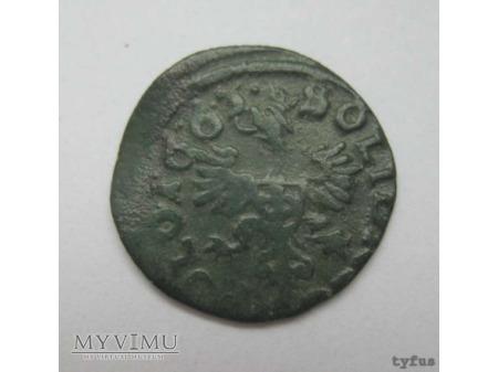 szeląg koronny 1663 11