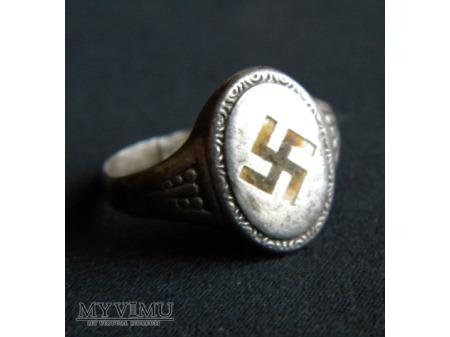 Duże zdjęcie pierścionek srebrny