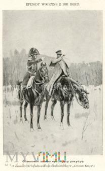 Duże zdjęcie Wojsko polskie 1831 roku - mal. Gębarzewski