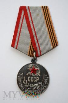 Duże zdjęcie Medal Weterana Sił Zbrojnych ZSRR
