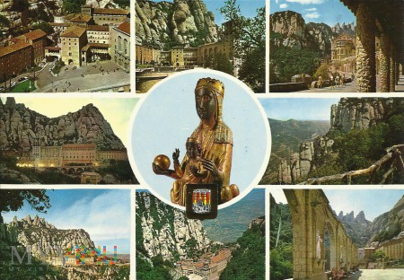 Hiszpania - Madonna z Montserrat