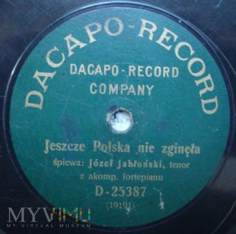 Dacapo Record -Jeszcze Polska nie zgineła