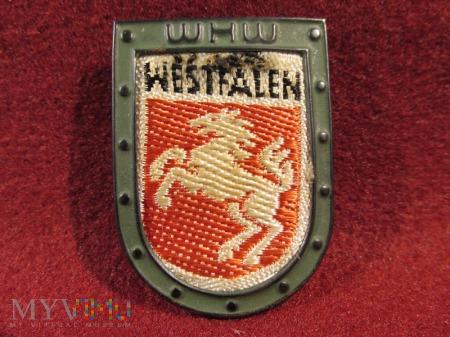 WESTFALIA- herby okręgów granicznych- odznaka WHW