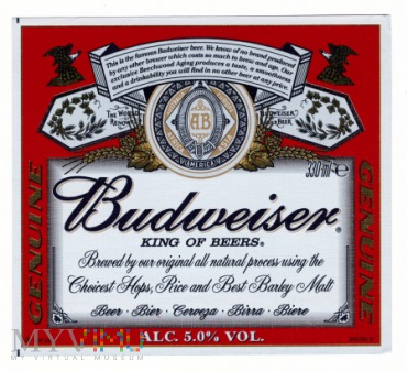 Budweiser Genuine